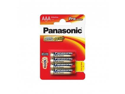 Panasonic baterie LR03/AAA Pro Power 4ks