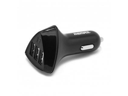 REMAX RCC-340 nabíječka do auta 3 x USB 4,2A černá