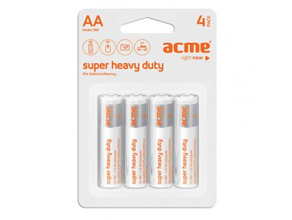 ACME baterie AA Super Heavy Duty R6P / 4ks