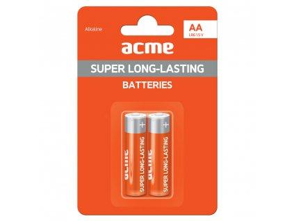 ACME baterie AA alkaline LR6 / 2ks