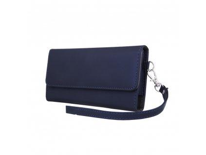 Wallet Chic peněženkové pouzdro univerzální 170 x 80mm modré