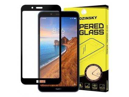 Wozinsky Full Glue tvrzené sklo Xiaomi RedMi 7A, zakřivené černé 7426825372697