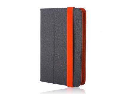 """ORBI univerzální pouzdro na tablet 7-8"""" černá / oranžová"""