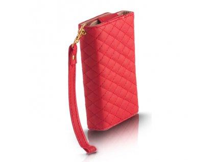 """Wallet Quadrate peněženkové pouzdro univerzální do 5,5"""" červené"""