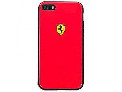 """Ferrari kryt pro iPhone 7 / iPhone 8 (4,7"""") červený, FESACHCI8RE"""