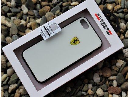 "Ferrari kryt pro iPhone 7 / iPhone 8 (4,7"") bílý, FESACHCI8WH"