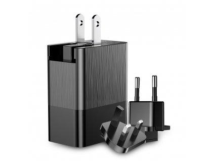 Baseus Duke nabíječka EU / UK / USA 3 x USB / 3,4A CCALL-GJ01