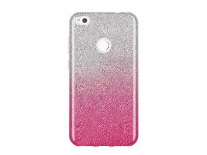 Pouzdro Glitter Case pro Huawei P9 Lite 2017 / Honor 8 Lite / Nova Lite růžové