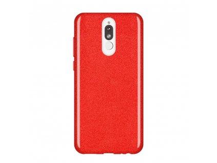 Pouzdro Glitter Case pro Huawei Mate 10 Lite červené