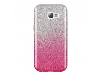 Pouzdro Glitter Case pro Samsung A520 Galaxy A5 2017 růžové