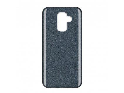 Pouzdro Glitter Case pro Samsung A605 Galaxy A6 Plus 2018 černé