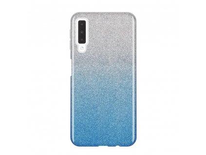 Pouzdro Glitter Case pro Samsung A750 Galaxy A7 2018 modré