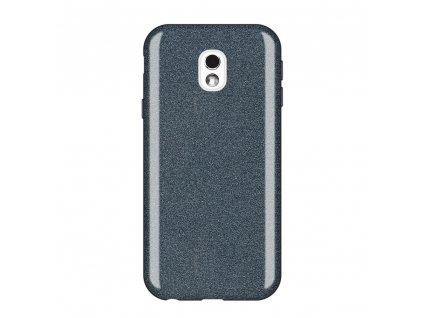 Pouzdro Glitter Case pro Samsung J330 Galaxy J3 2017 černé