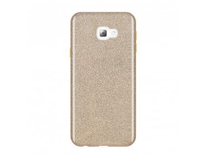 Pouzdro Glitter Case pro Samsung J415 Galaxy J4 Plus 2018 zlaté