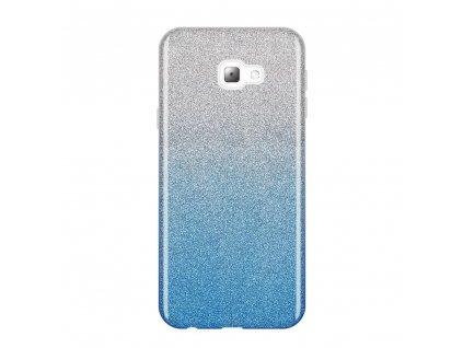 Pouzdro Glitter Case pro Samsung J415 Galaxy J4 Plus 2018 modré