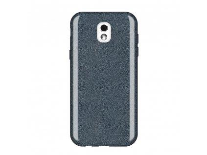 Pouzdro Glitter Case pro Samsung J530 Galaxy J5 2017 černé