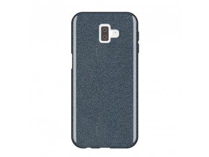 Pouzdro Glitter Case pro Samsung J610 Galaxy J6 Plus 2018 černé