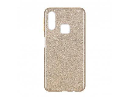 Pouzdro Glitter Case pro Samsung A40 zlaté
