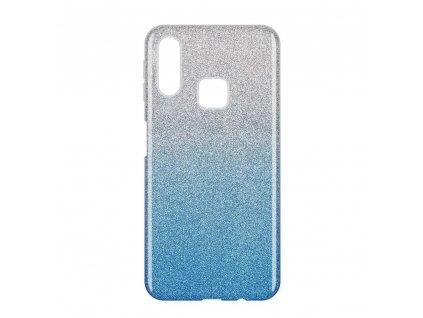 Pouzdro Glitter Case pro Samsung A40 modré