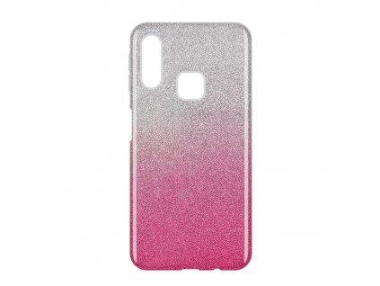 Pouzdro Glitter Case pro Samsung A40 růžové