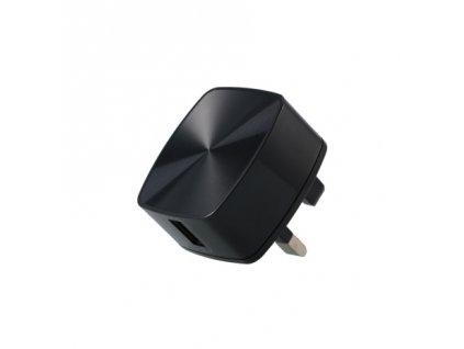 REMAX RP-U114 nabíječka do sítě pro USA 3A / QC 3.0 černá