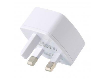 REMAX RP-U114 nabíječka do sítě pro EU 3A / QC 3.0 bílá