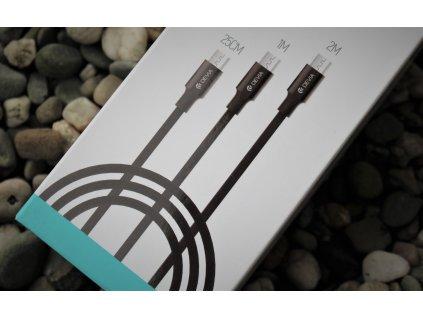 Devia Pheez set 3ks kabelů 25cm / 1m / 2m USB-C