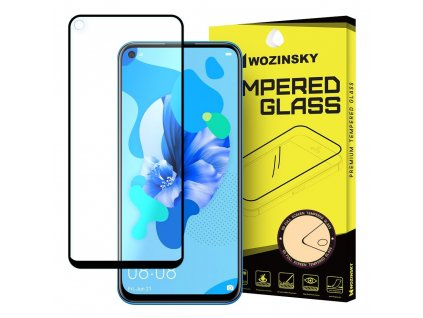 Wozinsky Full Glue tvrzené sklo Huawei P20 Lite 2019 / Nova 5i zakřivené 7426825374011