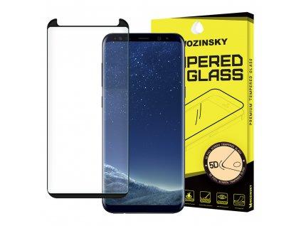 Wozinsky Full Glue tvrzené sklo Samsung G950 Galaxy S8, zakřivené černé 7426825340702