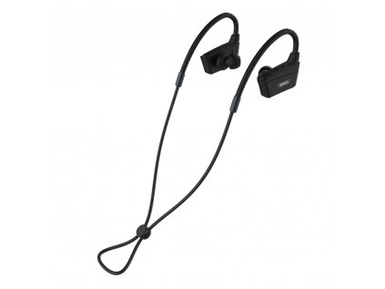 Remax RB-S19 sportovní bezdrátové bluetooth sluchátka černé