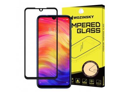 Wozinsky Full Glue tvrzené sklo Xiaomi RedMi NOTE 7, zakřivené černé 7426825362865