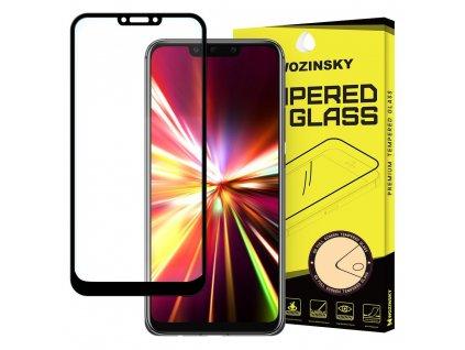 Wozinsky Full Glue tvrzené sklo Huawei Mate 30 Lite, zakřivené černé 7426825374653