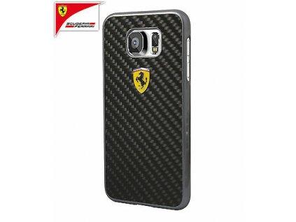 Ferrari kryt pro Samsung G920 Galaxy S6 černé FESCCBHCS6BL