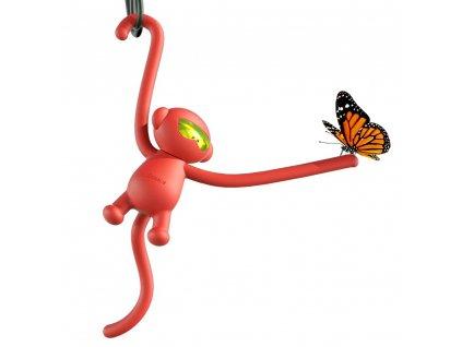 BASEUS Car Fragrance Monkey osvěžovač vzduchu do auta - červený SUXUN-MK09