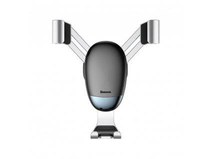 BASEUS Mini Gravity držák do mřížky ventilátoru  - stříbrný SUYL-G0S