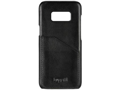 Bugatti 28213 Leather Snap pouzdro Samsung G955 Galaxy S8+ černé