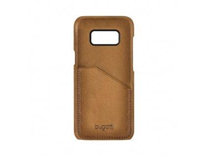 Bugatti 28214 Leather Snap pouzdro Samsung G950 Galaxy S8 hnědé