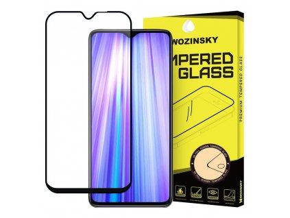 Wozinsky Full Glue tvrzené sklo Xiaomi RedMi NOTE 8 PRO, zakřivené černé 7426825375599
