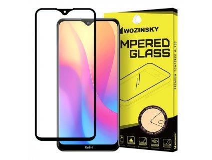 Wozinsky Full Glue tvrzené sklo Xiaomi RedMi 8A, zakřivené černé 7426825376350