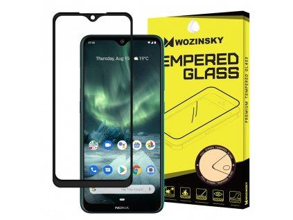Wozinsky Full Glue tvrzené sklo Nokia 7.2 / 6.2 černé 7426825376749