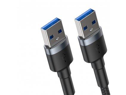 Baseus Cafule USB kabel / prodlužovací - USB 3.0 male - USB 3.0 male šedý CADKLF-C0G