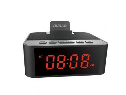 Dudao Multifunkční reproduktor s hodinami / FM / AUX / budík