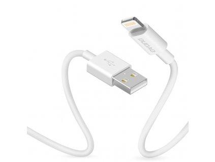 Dudao L1L USB kabel - iPhone Lightning / 1m / 3A white