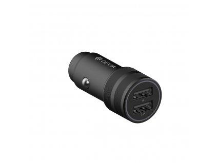 Devia SM6 nabíječka do auta 2x USB / 2,4A černá