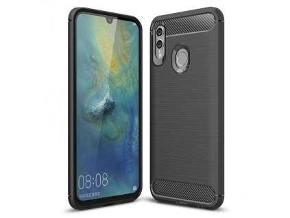 Pouzdro Carbon Case pro Huawei P Smart Plus 2019 / Honor 10 Lite černé
