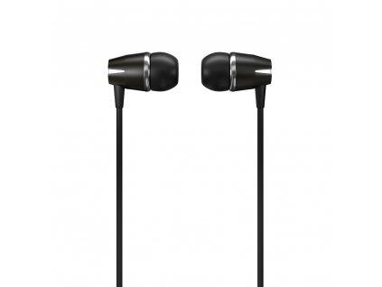 WK Design Y6 stereo sluchátka s mikrofonem a ovladačem černé