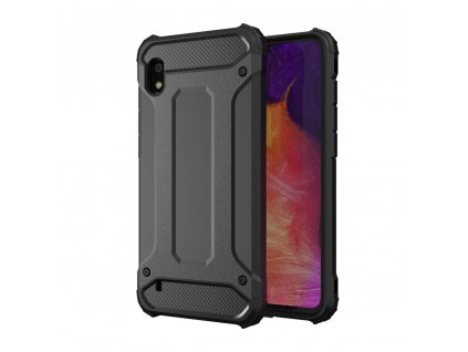 Hybrid Armor Case odolné pouzdro pro Samsung A10 černé