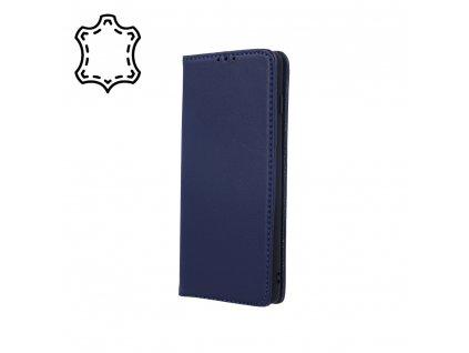 Pouzdro Smart PRO, kožené Xiaomi RedMi 7A modré