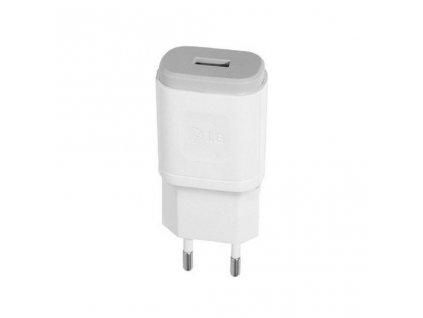 LG MCS-01EP nabíječka s výstupem USB white / bílá (bulk) 1200mA