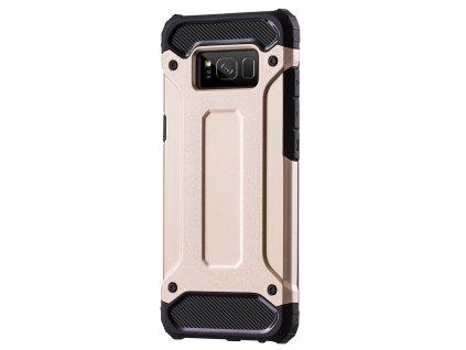 Hybrid Armor Case odolné pouzdro pro Samsung G955 Galaxy S8 Plus zlaté